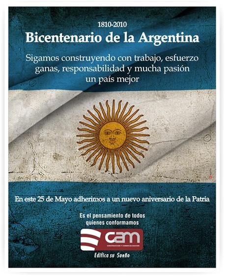 25 de mayo: Bicentenario de la Argentina
