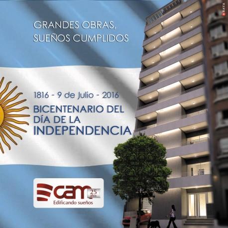 ¡FELIZ BICENTENARIO DE NUESTRA INDEPENDENCIA!