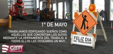 1° de Mayo - Día del Trabajador.