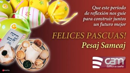 Felices Pascuas - Pesaj Sameaj