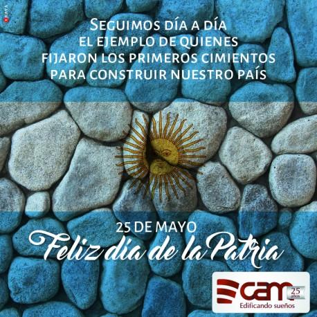 25 de Mayo: Día de la Patria Argentina.