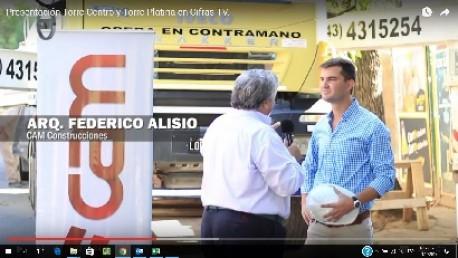 Presentación de Torre Platina y Torre Centro en Cifras TV.