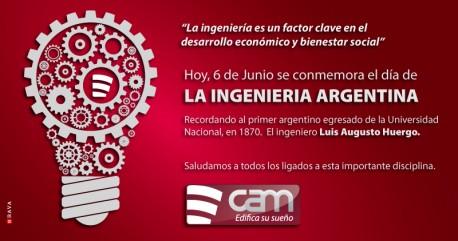 6 de Junio - Día de la Ingeniería Argentina.