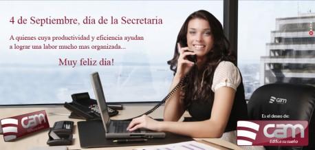 Feliz dia de la Secretaria!