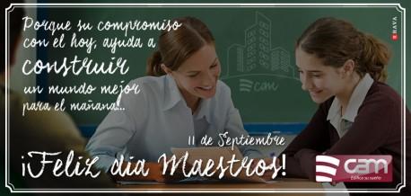 11 de Septiembre - Feliz día del Maestro
