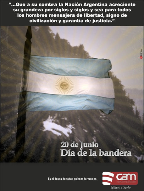 Feliz día de la bandera!