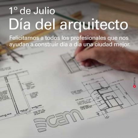 1ero de Julio. Día del arquitecto