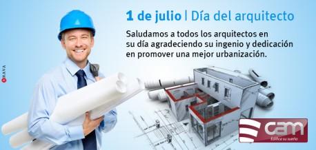 1° de Julio - Día del Arquitecto.