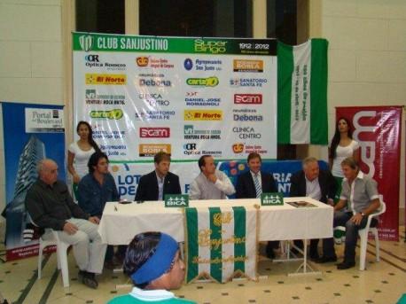 Presentación del equipo San Justino al Torneo Argentino B