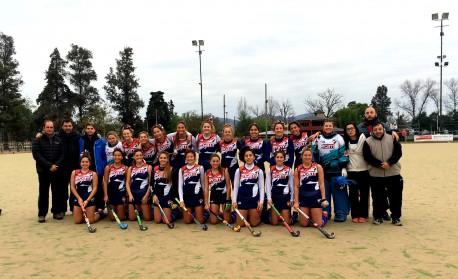 CAM Construcciones sponsor oficial del seleccionado de Hockey Femenino.