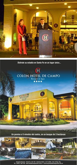 El Hotel de Campo Colón inauguró canchas de tenis y el salón de eventos