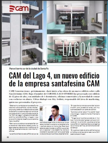 CAM del Lago 4 en Revista CIFRAS