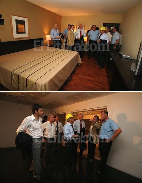 [EL LITORAL] - Funcionarios provinciales y municipales recorrieron las obras del Hotel de Campo Colón