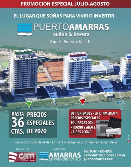 Nuevas promociones en Puerto Amarras: IMPERDIBLE!