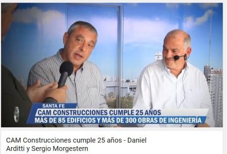 25 Aniversario Cam Construcciones - Nota en Cifras TV
