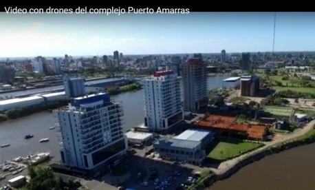 Nuevo vídeo filmado por drones del complejo Puerto Amarras