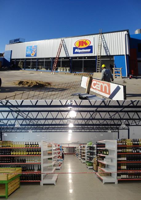 CAM S.A. construye y JK Kilgelmann Supermercados lo inaugura