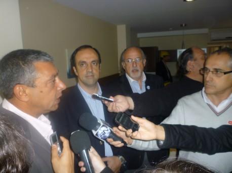 Repercusiones de la visita del intendente a la obra de Puerto Amarras