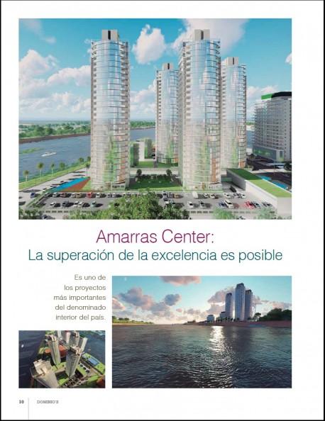 Amarras Center en Revista Dominio´s