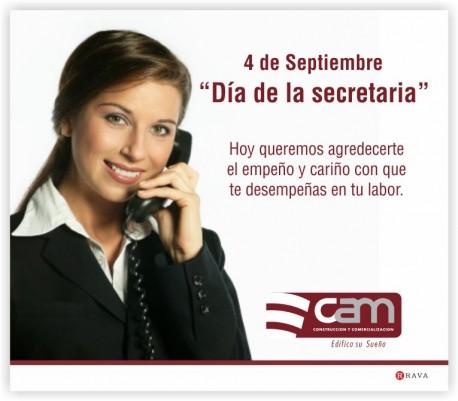 Feliz día de la secretaria!