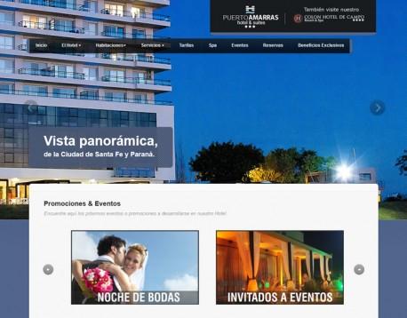 Visite www.hotelpuertoamarras.com.ar