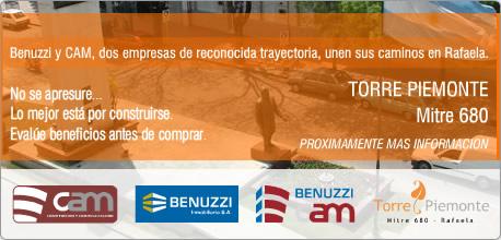 Benuzzi y CAM unen sus caminos en Rafaela